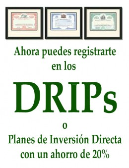 Widget DRIP enrollment - 20 Percent - Green