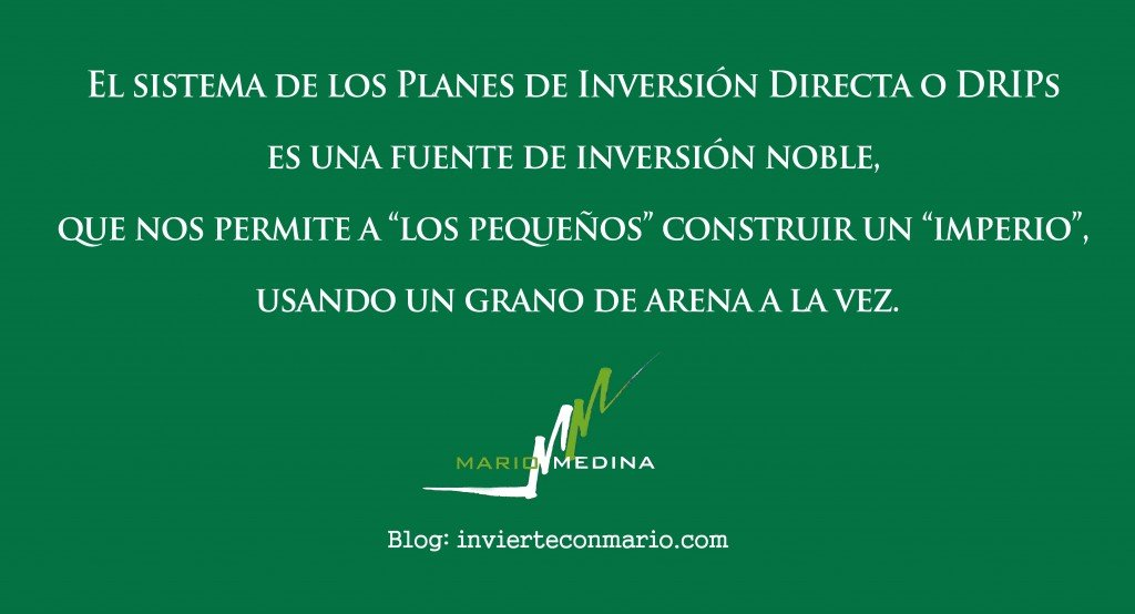 Frase for Blog - los DRIPs